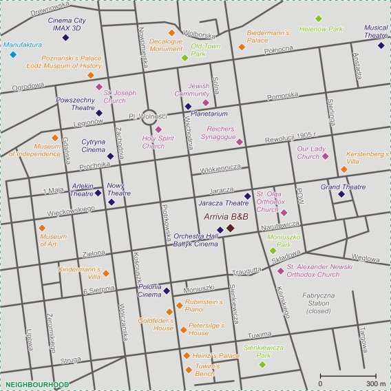 Map - Neighbourhood
